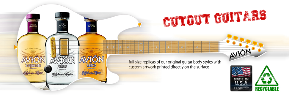 Cutout Guitars by Brand O' Guitar Company.